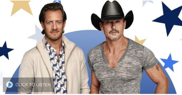Tim McGraw, Tyler Hubbard To Perform At Inauguration Event