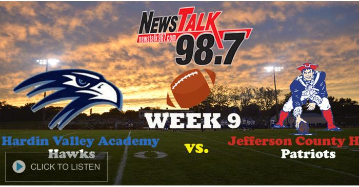 Hardin Valley Academy vs. Jefferson County - Week 9 (10.16.20)